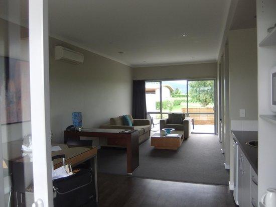 Marlborough Vintners Hotel: Living area