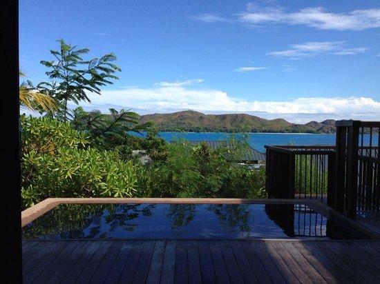 Raffles Seychelles: Sea view villa