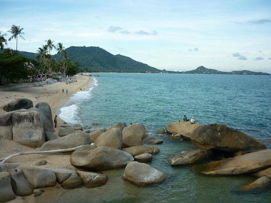 Grandmother and Grandfather Rocks (Hin Yai & Hin Ta) : Вид с камней