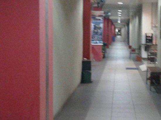 Switz Paradise Hotel: corridors heading to hotel
