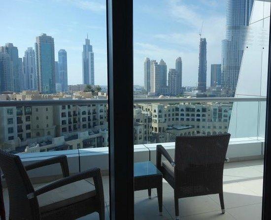 The Address Downtown Dubai : Balcony 11th floor