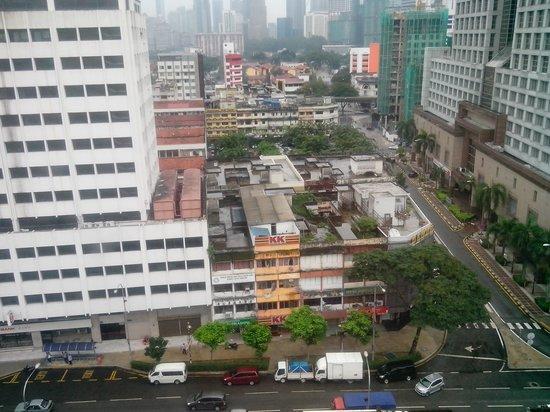 Q Hotel Kuala Lumpur : View from Room 1011