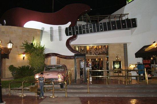 Hard Rock Cafe Sharm El Sheikh : Вход