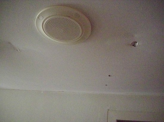 Rydges Camperdown: Holes in ceiling