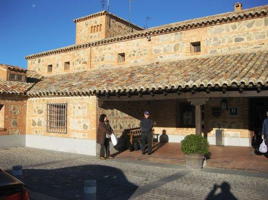 Parador de Toledo : パラドール玄関