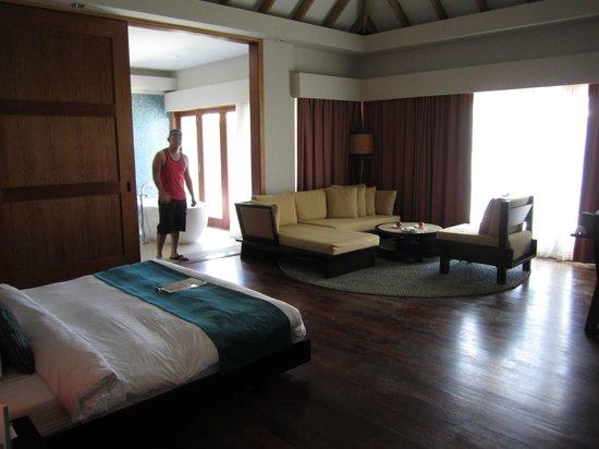 Vakarufalhi Island Resort: Couch