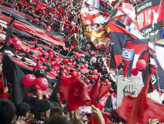 Sapporo Dome: Consadole Sapporo-fans