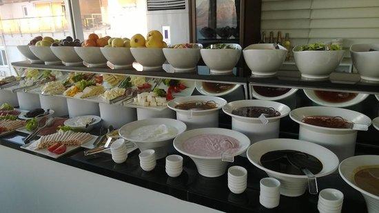 La Boutique Hotel Antalya : brekfast