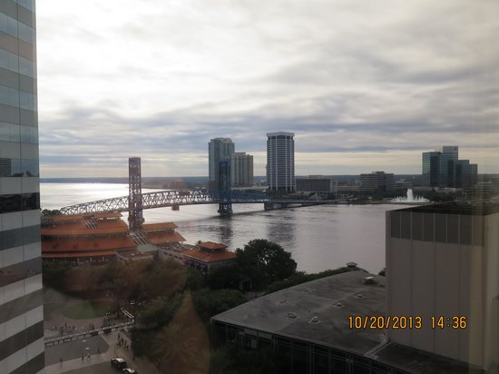 Omni Jacksonville Hotel: View from the room.