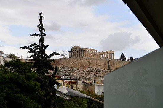 Acropolis Hill Hotel : View from balcony
