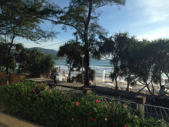 Club Med Phuket: View from the bar area