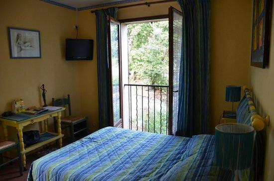 Les Belles Terrasses : camera per due persone