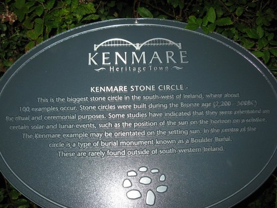 Stone Circle: Sept 2013