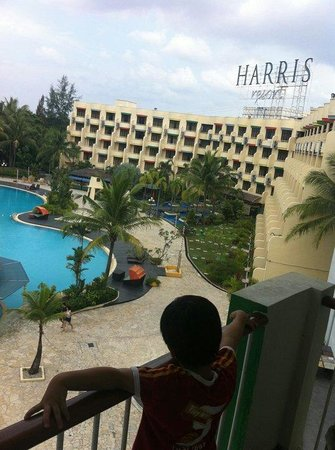HARRIS Resort Batam Waterfront: View from our room
