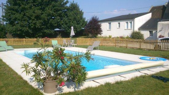 Ombrienne Chambres d'Hôtes : la piscine