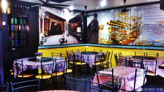 Restoran Nyonya Suan: design