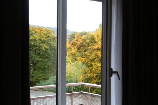 Mercure Stoller Zurich: vista dos quartos com sacadas