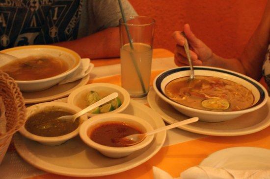 Luz En Yucatan: sopa de lima