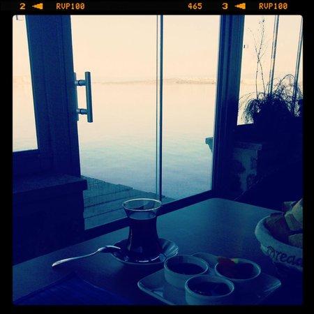 Ferahi Evler Butik Hotel: Restaurant manzarası