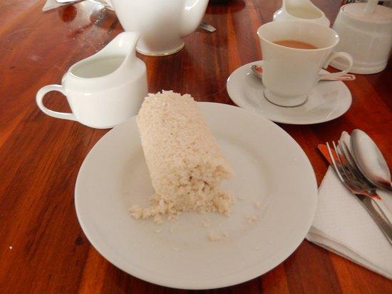 Dream Palace Family Guest House : Sweat Srí Lanka´s breakfast