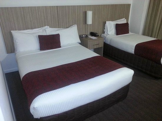 Metro Hotel Marlow Sydney Central: Two beds