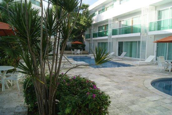 Hotel Los Cocos: Die Hotelanlagen zwischen den einzelnen Häusern
