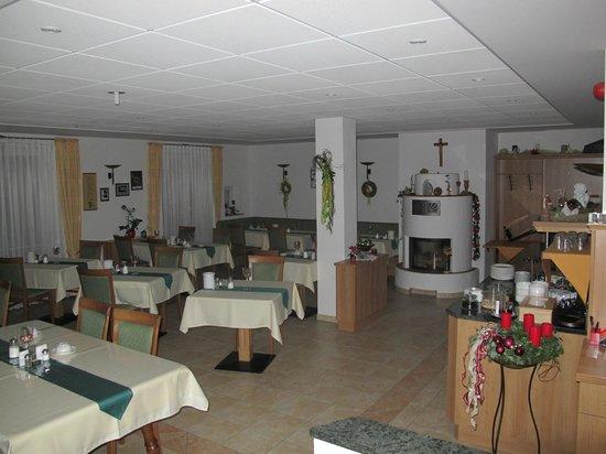 Gasthaus am Rastberg : sala colazione