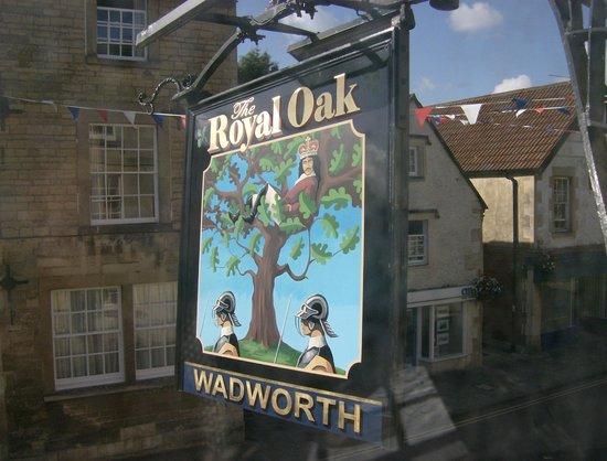 Royal Oak Corsham Wiltshire : The Royal Oak