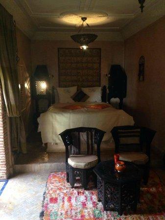 Riad Maipa: chambre