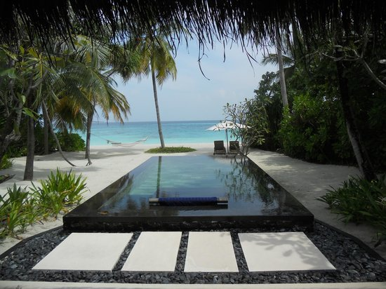 One&Only Reethi Rah: Private Infiniti Pool