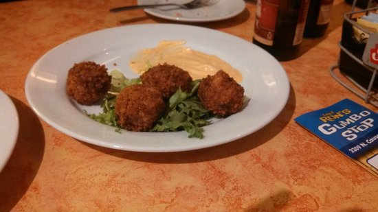 Chef Ron's Gumbo Stop: Boudin Balls!