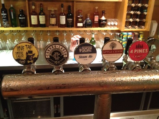 The Tippler & Co: Drinks selection