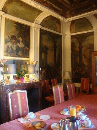 Chateau de Colliers : sala colazione