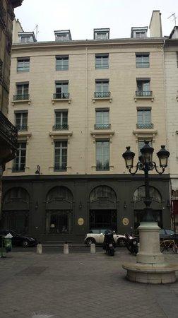 La Maison Favart: View from street.