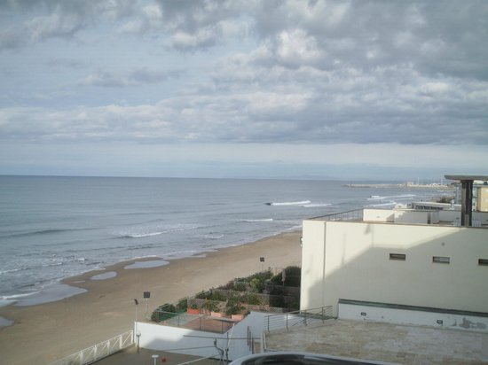 Hotel Sabbia d'Oro: View from the room