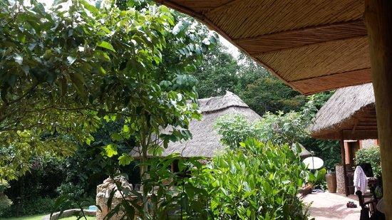 Primate Lodge Kibale: Restaurant/Bar