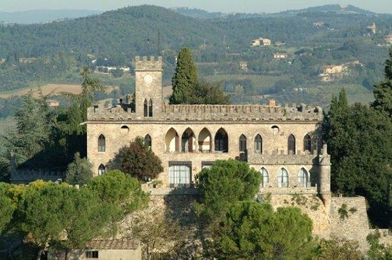 Poggibonsi Italy  city pictures gallery : Agriturismo Castello di Badia Poggibonsi, Italy : See 7 Reviews and ...