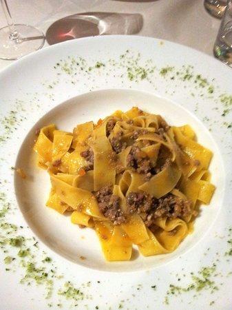 Osteria Veneta : Pappardelle al ragout d' anatra