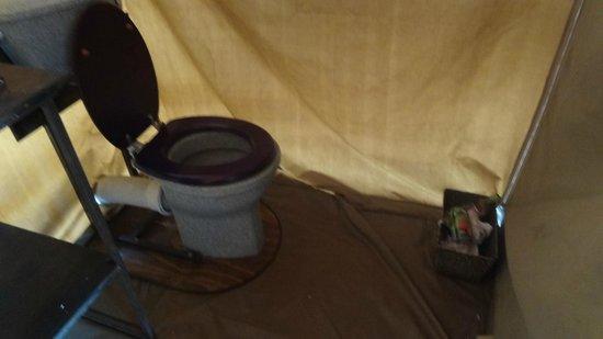 Khwai Tented Camp: con acqua corrente