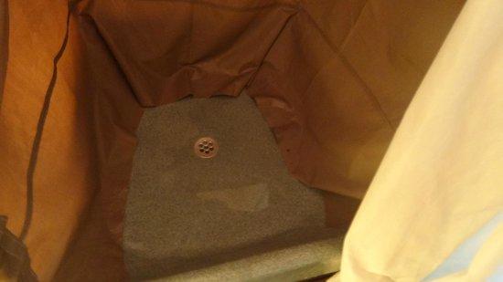 Khwai Tented Camp: piatto doccia