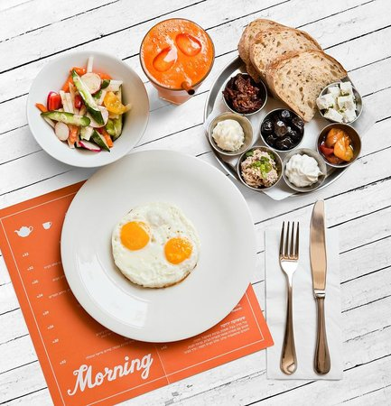 Soyo: Israeli breakfast
