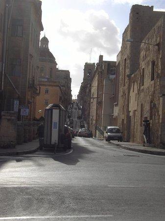 Malta5D : Gassen von Valetta