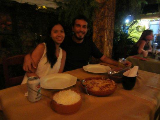 Jantar no restaurante Dom Mario.