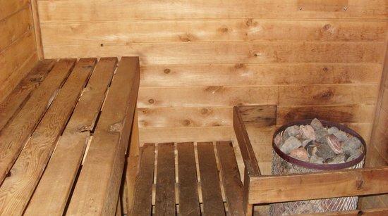 Bayview Motel: Sauna