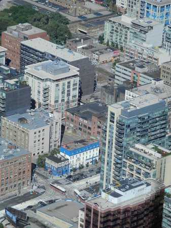 Global Village Backpackers: GVBp seen from CN Tower