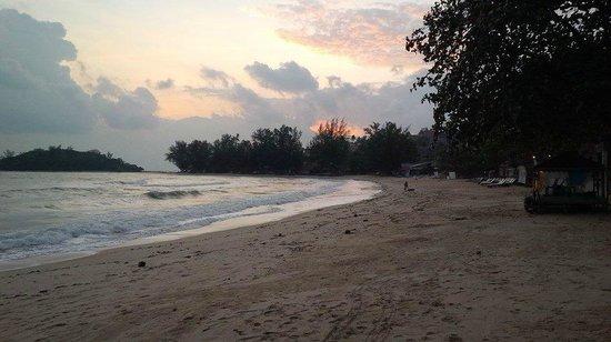 O Soleil Bungalow : Beach Vue