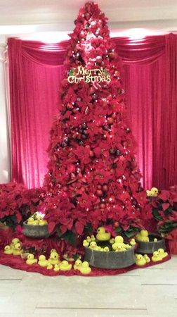 Hotel Royal-Nikko Taipei: クリスマスのディスプレイされていました