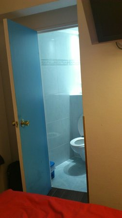 Hotel Eiffel Segur: Toilet