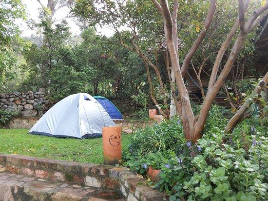 Renacer Hostal: Zona de camping