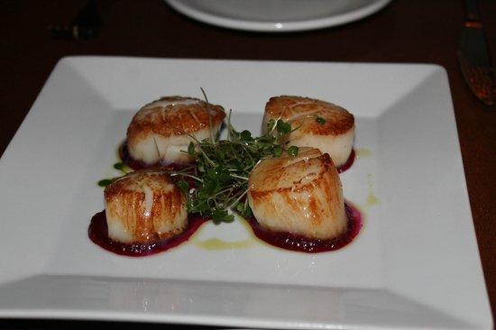 Tapas Restaurant : scallops